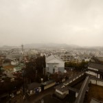 View from Shiroishi Castle